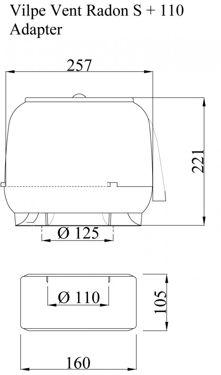 S 160 радон-вентилятор.Проектировщикам