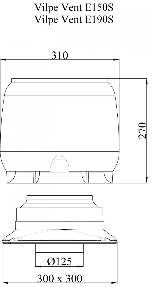 E190 S вентилятор.Проектировщикам