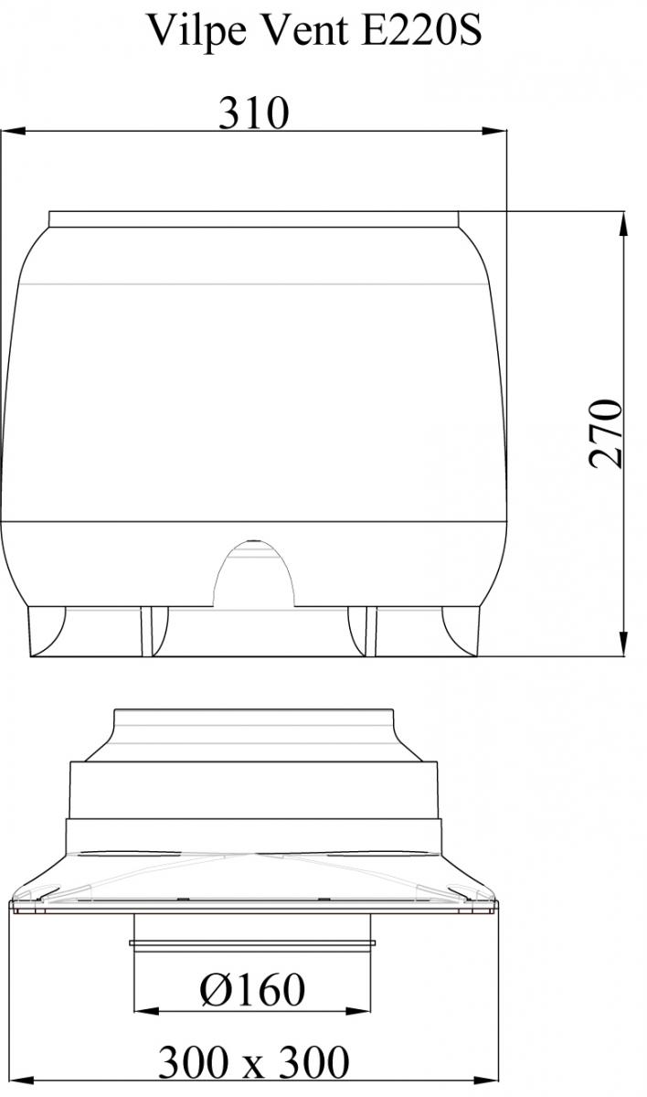 E220 S вентилятор.Проектировщикам
