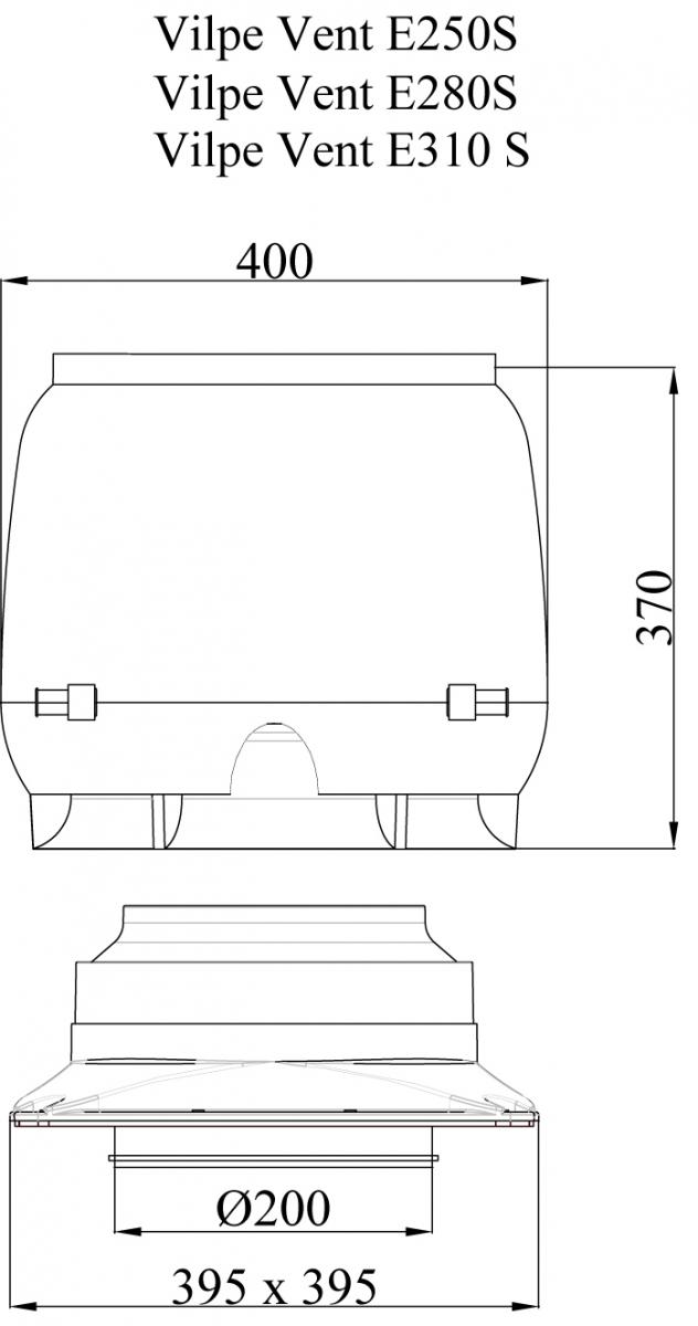 E280 S вентилятор.Проектировщикам